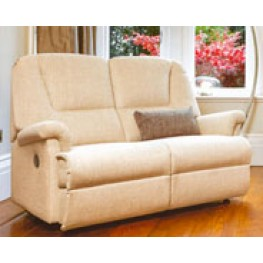 Milburn Petite Powered Rechargeable Reclining 2 Seater Sofa