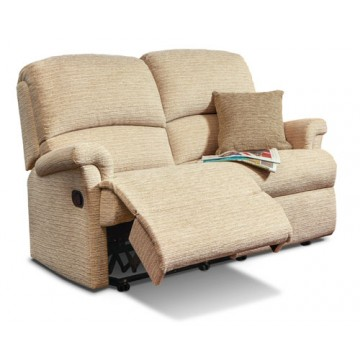 Nevada Small Rechargeable Power Reclining 2 Seater Sofa