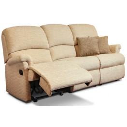 Nevada Small Manual Reclining 3 Seater Sofa