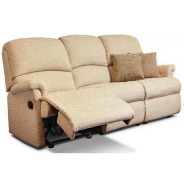Nevada Small Power Reclining 3 Seater Sofa