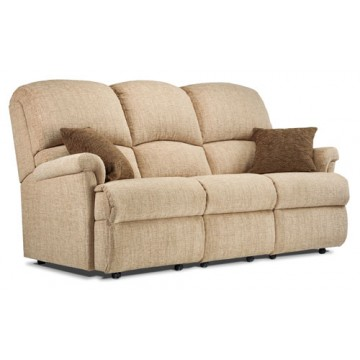 Pleasing Small Fixed 3 Seater Sofa Sherborne Upholstery Recliners4U Machost Co Dining Chair Design Ideas Machostcouk