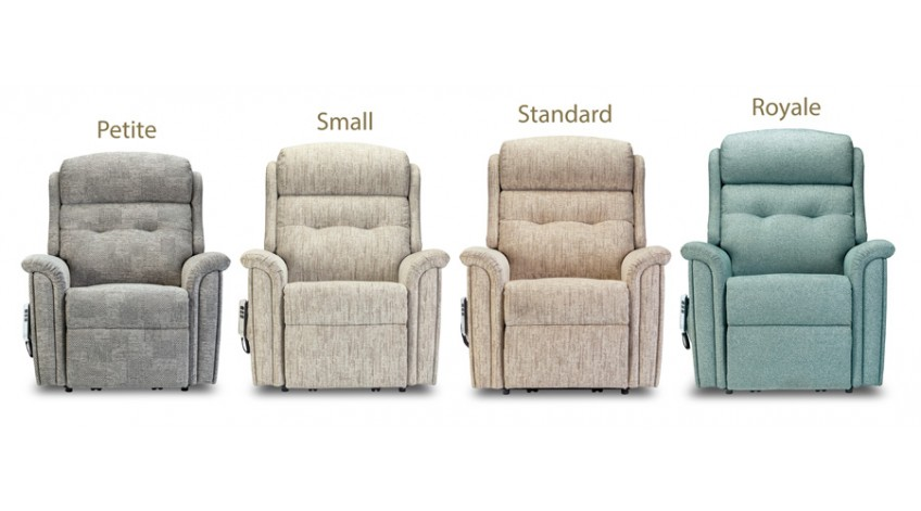 The Sherborne Roma Riser Recliner now available in 4 different sizes