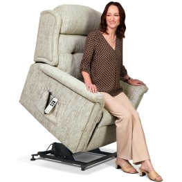 1812 Roma Small Dual Motor Lift & Rise Recliner - ZERO RATE VAT