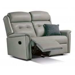 Roma 2 Seater Manual Reclining Sofa - Small