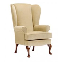 Buckingham High Seat Chair - Dark Beech Legs