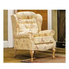 Lynton Fireside Chair (Light Oak Legs)