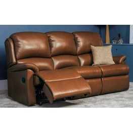 Virginia Manual Reclining 3 Seater  Sofa - Small