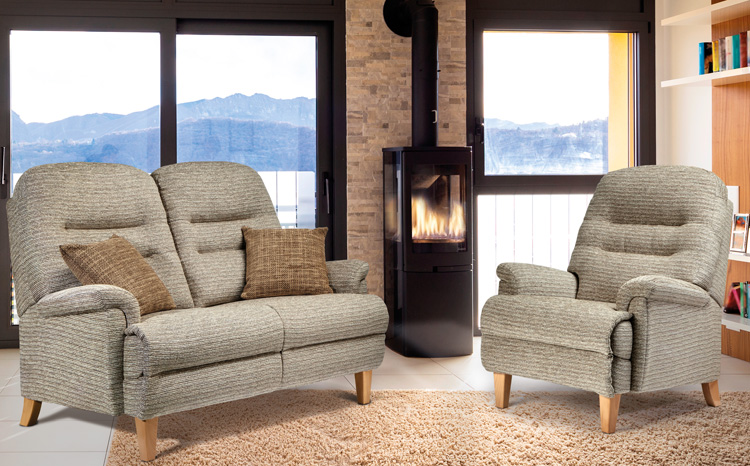 Keswick Classic Sofa, Chair & Powered Recliner | Sherborne