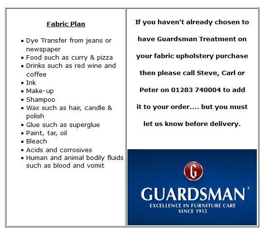 guardsman fabric